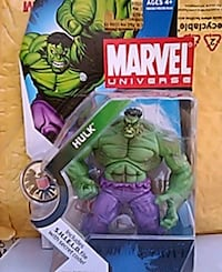 Marvel Universe Hulk figure Fairfield