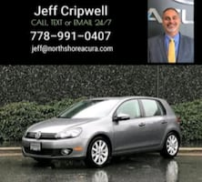 2013 Volkswagen Golf 2.5L 4-door Auto w/Conv. & Sunroof PZEV