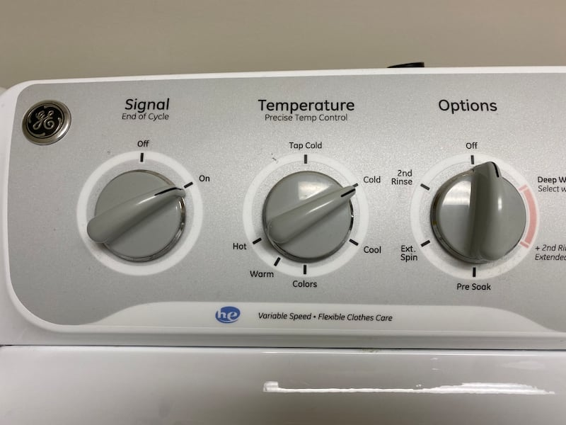 GE Washer and Dryer Set 2