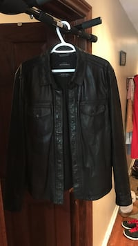 All Saints Leather Shirt Jacket Mississauga, L5G