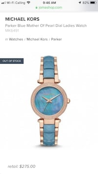 New beautiful mother of pearl MK watch  Pickering, L1V 4X1
