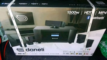 'XMAS REDUCTION' Daneli Home Theater System HD-52