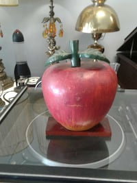 red and green cast Iron Apple Hamilton, L8L 3A4