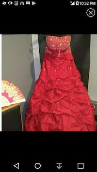 Red Prom or Special Occasion Gown