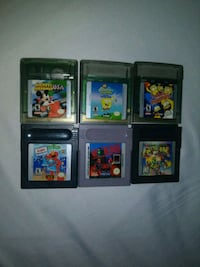 Gameboy color games New York, 10027