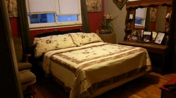Queen mattress regular bed