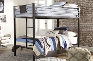 Brand new twin over twin bunkbed