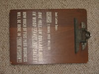 Vintage 1963 Sears Clip Board Norton