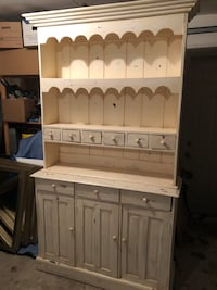 French Country Buffet Hutch Toronto, M5M 2X3