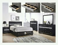 REGATA BEDROOM SET WITH $39 DOWN PAYMENT!!! Houston, 77069