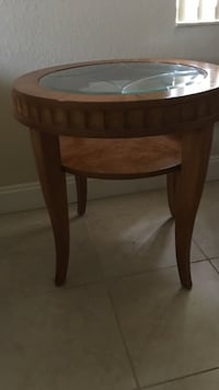 Tommy Bahamas's end table. 2 available. Sold separately. Perfect condition. Coffee table completes set. All sold separately. Solid wood Coconut Creek, 33073