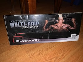 Pro source pull up bar
