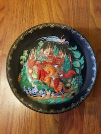 Russian collector plate Wrightsville, 17368
