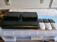 Directv Genie and two genie minis with remotes Shreveport, 71105