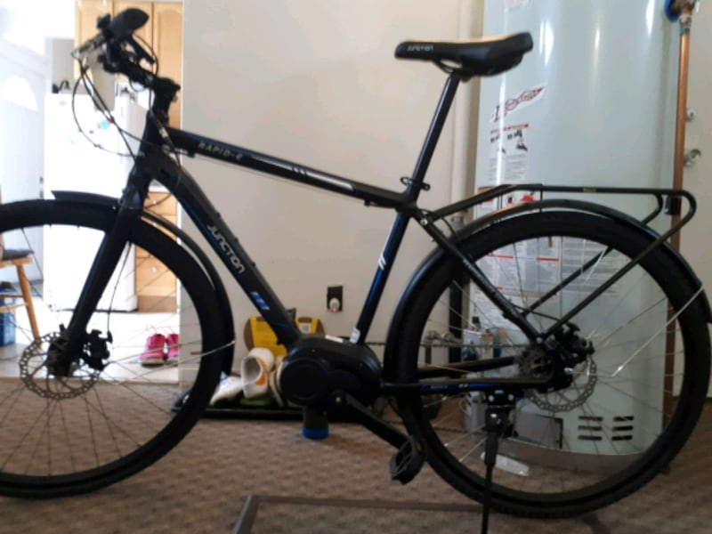 Junction rapid e  700c ebike 1300  i paid 1800 and rode for 3 hrs 573774e3-d1ed-4334-b46e-91b1bb957564