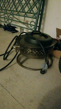 Outland firebowl with stand good condition Mission, V2V 2S9