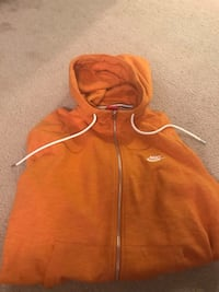 Men's Nike orange zip-up hoodie Clarksburg, 20871