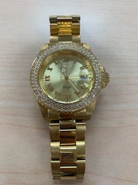 Gold diamond invicta watch Costa Mesa, 92627