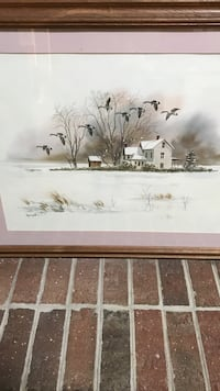 white 3 storey house brown wooden framed painting Moyock, 27958