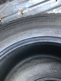 All 4 tires 265/70/17 Clinton, 39056