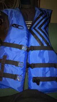 blue and black life vest Modesto, 95355