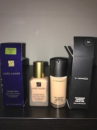 Estee lauder and MAC foundation makeup Brampton