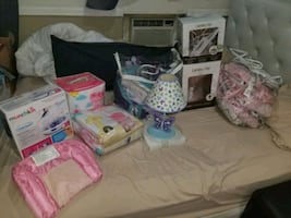 Crib bedding and more