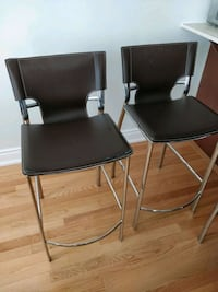 Two bar/kitchen stools 538 km