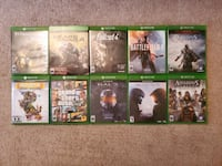 Collection of Xbox One Games Woodbridge, 22193