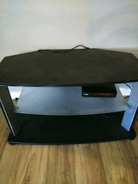 black and gray TV stand Conroe, 77301