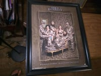 Framed 'Duck Dynasty' Poster with Textured Faux-Pa Indianapolis, 46201