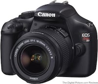 black Canon EOS DSLR camera Sand City, 93955
