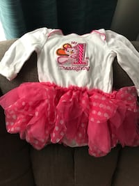Thanksgiving baby girl outfit  Alexandria, 22304