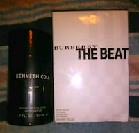 Burberry and Kenneth Cole fragrances, sealed,new!