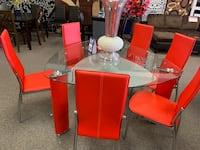 Brand new 7 piece dining set  Omaha, 68134