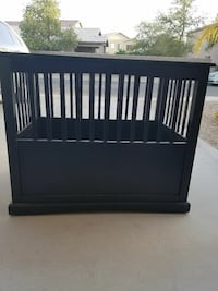 Dog Kennel End Table San Tan Valley
