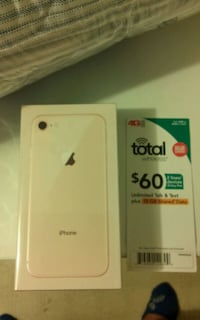 Brand New Apple IPHONE 8 Gold 64g