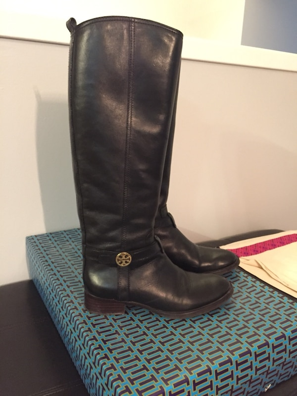 dae600951555 Used Tory Burch Black Riding Boots for sale in Uxbridge - letgo