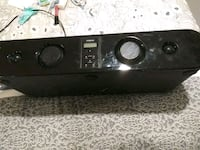 black and gray stereo component Aurora, 80010