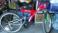 Mt Storm bicycle...Red in color