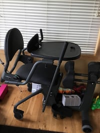 black and gray stationary bike Coon Rapids, 55448