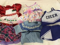 Bunch of doll clothes 4 pics