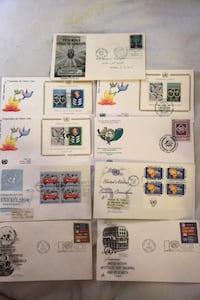 1960 through 1985 lot of united Nation first day cover issues  Beltsville, 20705