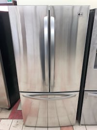 33 x 70 LG stainless steel French doors refrigerator with ice maker everything works great 100 days warranty Baltimore, 21231