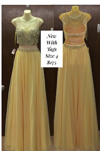 New With Tags Size 4 Formal Gown $175