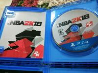 Sony PS4 NBA 2K18 game disc Capitol Heights, 20743