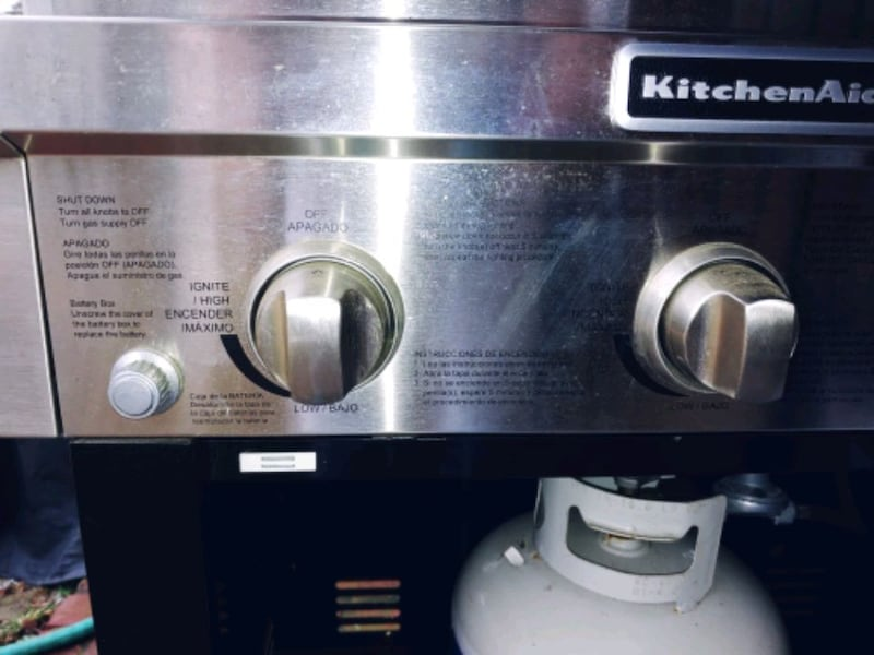 Large KitchenAid Propane Grill 5