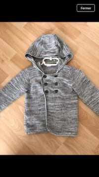 Gilet double boutonnage Taille 6/9 mois