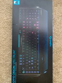 Logitech G910 Orion Spectrum Gaming Keyboard, mouse, mousepad set Lafayette, 70506
