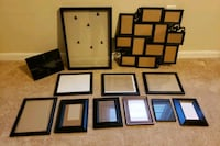 Picture Frames. $6.00 for the set ($0.50 each) Stafford, 22556